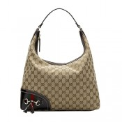 Brun Gucci Vagabonds Hobo Moyen Gland Mors France Magasin