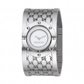 D'Argent Gucci Montres Collection Tournoyer Grande Version Authentique