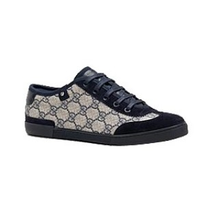 Noir Gucci Chaussures A Lacets Barcelona Remise Nice
