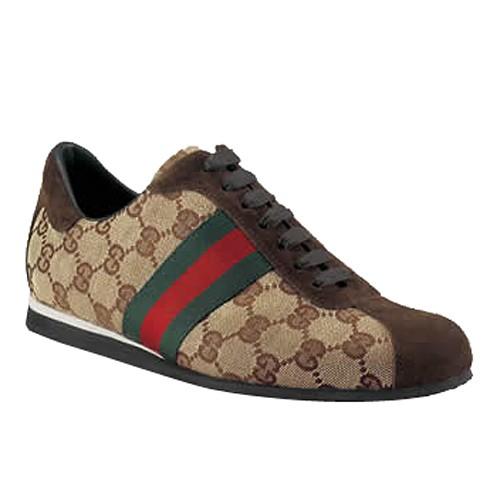 Brun Gucci Espadrilles Espadrilles Avec Signature Web Pas Chere 540c585d210