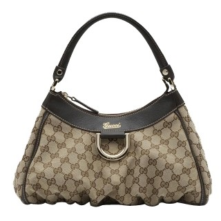 Brun Gucci Vagabonds Hobo Moyenne D' Or