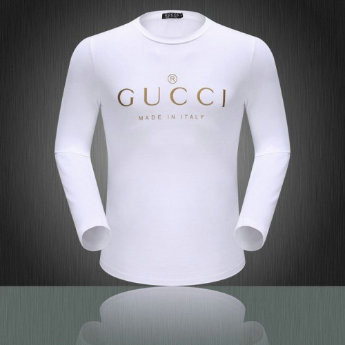 Gucci t-shirt manches longues Collection 4901bc6206e