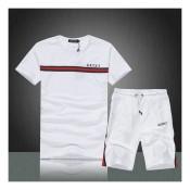bf4f7ed4d541 Ensemble short et t-shirt Gucci pour homme Prix France