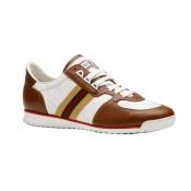 1ff670c45fe4 Blanc Gucci Chaussures A Lacets Espadrilles Avec Signature Web Magasin De  Sortie