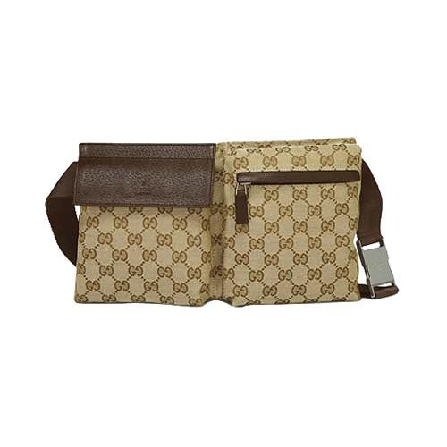 11f3158685d Brun Gucci Voyage   D affaires Sac De Ceinture Boutique En Ligne
