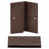 Chocolat Gucci Continental Portefeuille Remise Nice