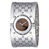 D'Argent Gucci Montres Collection Tournoyer Grande Version Soldes France