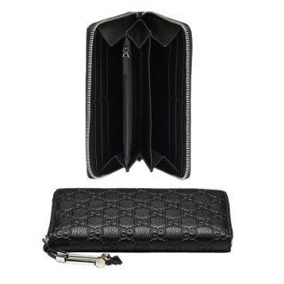 Noir Gucci Continental Détail Mors Portefeuille Site Officiel France