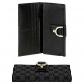 Noir Gucci Continental Ornement Anneau Portefeuille D Collection acb98946df7